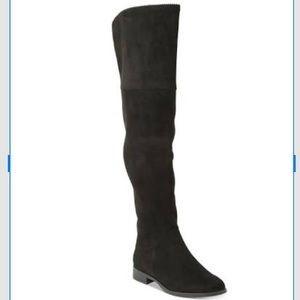 Xoxo micro suede over the knee Tristen boots 8.5